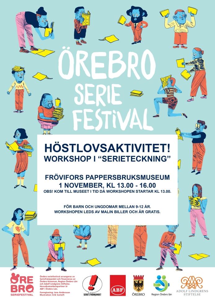 Serieworkshop affisch
